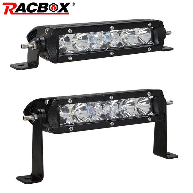 Racbox 7 inch off road led light bar 30w combo flood spot beam white racbox 7 inch off road led light bar 30w combo flood spot beam white 12v 24v aloadofball Image collections