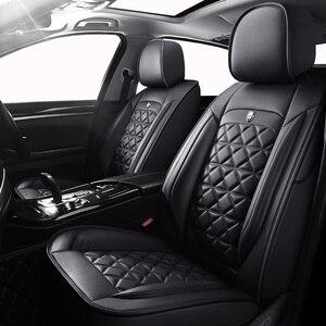 Image 1 - עור באיכות גבוהה אוטומטי רכב מושב מכסה עבור סיטרואן כל מודלים c4 c5 c3 C6 האליזה קסארה C quatre פיקאסו רכב סטיילינג