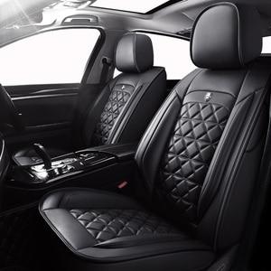 Image 1 - Yüksek kaliteli deri oto araba koltuğu kapakları Citroen için tüm modeller c4 c5 c3 C6 Elysee Xsara c quatre picasso araba styling