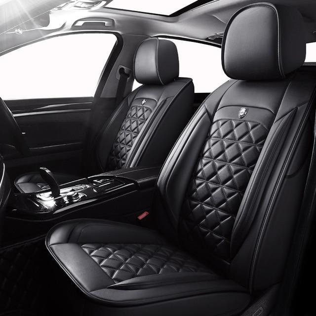 Yüksek kaliteli deri oto araba koltuğu kapakları Citroen için tüm modeller c4 c5 c3 C6 Elysee Xsara c quatre picasso araba styling