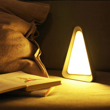 LED Gravity Induction Table Lamp USB Rechargeable Night Light Eye Protection Flip Lights SDF-SHIP