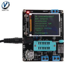 LCD GM328A GM328 Transistor Tester Diode Capaciteit ESR Spanning Frequentie Meter PWM Blokgolf Signaal Generator SMT Solderen