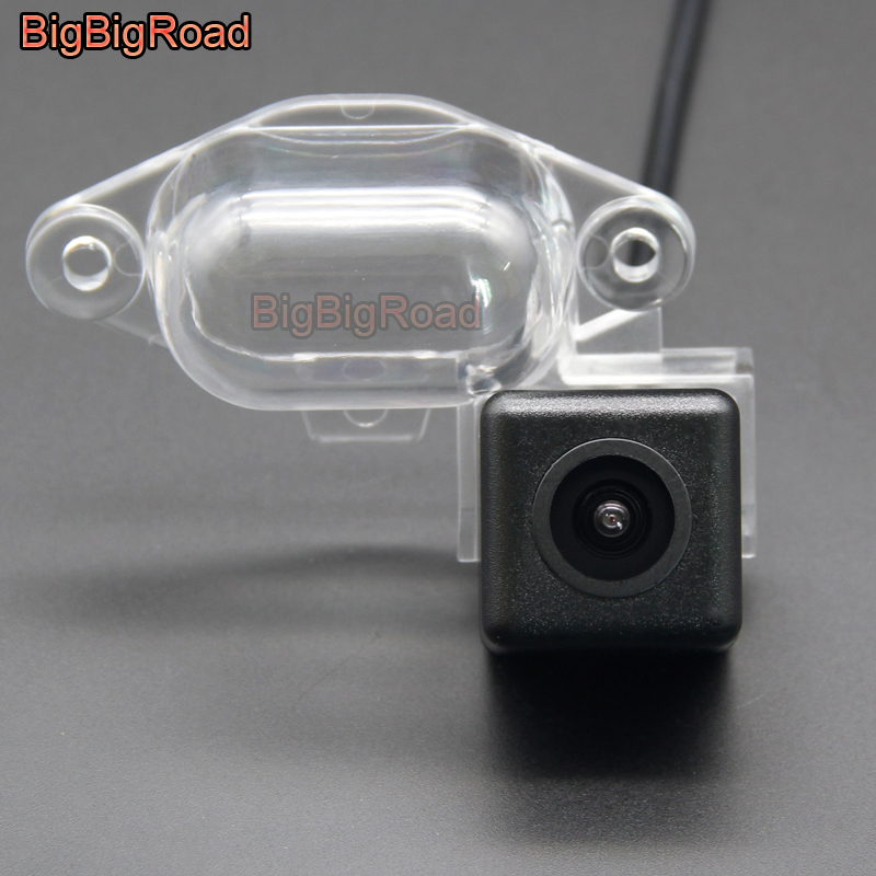 BigBigRoad Car Rear View Parking CCD Camera For Nissan NV200 NV 200 Evalia 2009 - 2015 / X-Trail Xtrail X Trail T30 2001 - 2007