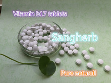 Натуральный витамин b17 VB17 таблетки экстракт Миндаля амигдалина порошок таблетки 500 шт. Наиболее Эффективным бесплатная доставка