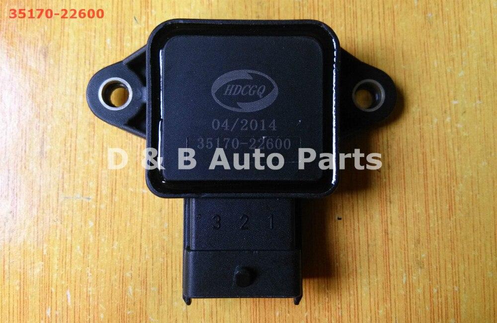 1 шт. высокое качество датчики положения дроссельной заслонки TPS датчики 35170-22600 для Hyundai Sonata Elantra