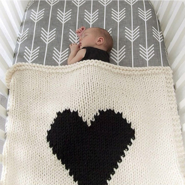 Loving Heart Baby Blanket