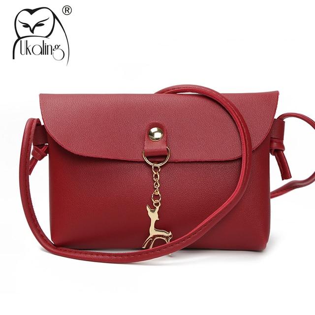 bad96c82daec UKQLING Mini Women Bag Clutch Purse Small Sling Crossbody Bags for Girls  Casual Money Phone Bag