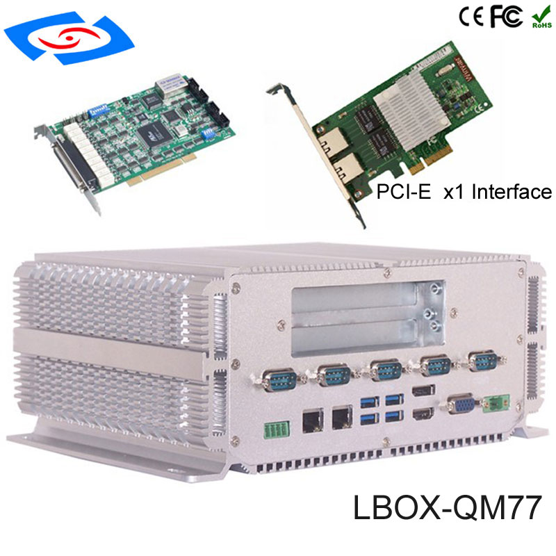 Fábrica Original Do Windows XP Sistema Compacto Mini PC Linux Caixa Da Liga Dupla LAN PC Robusto