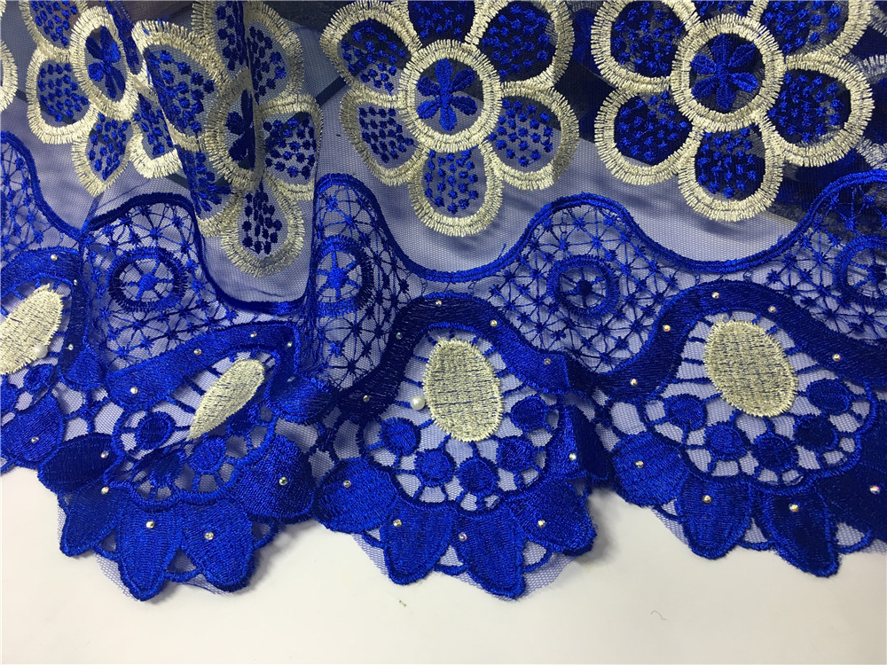embroidered for quality lace