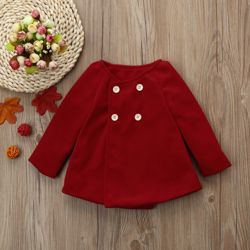 Toddler Kids Baby Girl Solid Lace Ruffle Windproof Coat Outerwear Princess Cloak