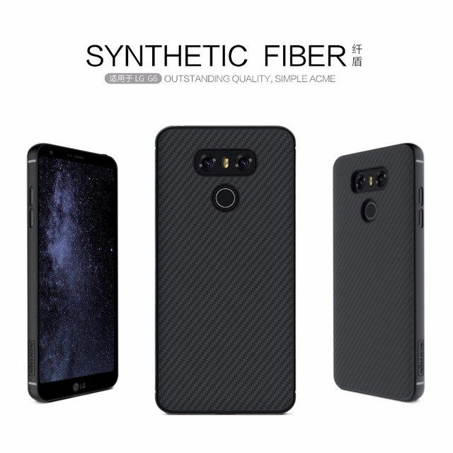 on sale 1cf62 21b3f US $12.21 |Aliexpress.com : Buy For LG G6 Case NILLKIN Synthetic Fiber Back  Cover Case PP back shell for lg g6 (5.7 inch) mobile phone bag protective  ...