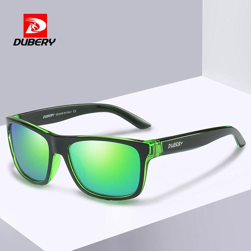 ead4d0364 DUBERY Esportes Estilo Óculos De Sol Dos Homens Polarizados Condução HD  Lente Polaroid Óculos Quadrados Óculos de Sol Shades gafas de sol do Sexo  Masculino ...