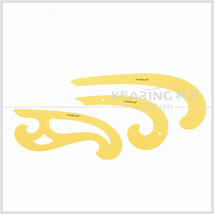 Flexible Plastic Fashion Design French Curve ruler for Drawings Tailoring Dressmaker Comics Design plate 1301S design fee for plastic bag usd50