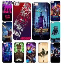 MaiYaCa Guardians of Marvel phone Cases for iphone 7 7Plus Phone Case For iphone X 6 6s 6Plus 6splus 8 8plus back cover