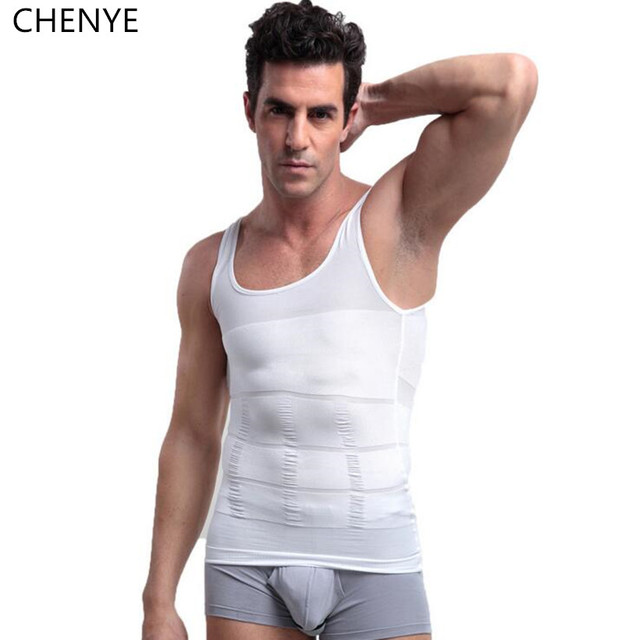 282520d9c3 Men waist trainer Slimming Vest Body Tummy Shaper Belly Fatty Underwear  Shirt Corset male Waist Girdle Shapewear 5 colors