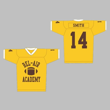 2017 New American Football Jersey Will Smith  14 Bel-Air Academy Embroidery  Stitched High 7c5fe211d
