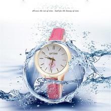 Durable 2016 fashion relogio women watches  Women's Fashion Leather Analog Quartz Vogue Wrist Watch erkek kol saati