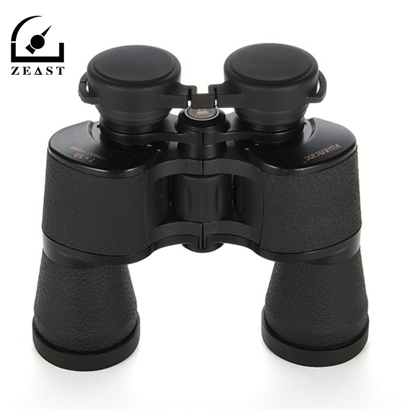 7x50 HD Binoculars Night Vision Telescope Binoculars Optics Porro For Travelling Hunting Camping Multi-Coated Lens Telescopes цена