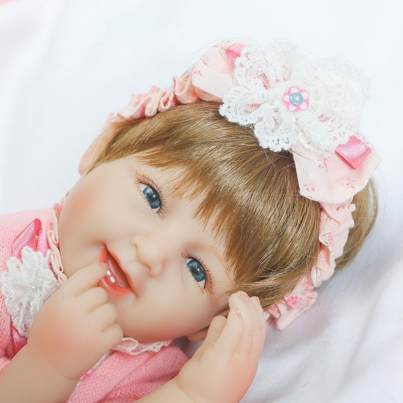 NPKCOLLECTION handmade cute 42cm silicone dolls reborn babies Toys for girls real doll 16in Lifelike lovely doll toy Juguetes corporate real estate management in tanzania
