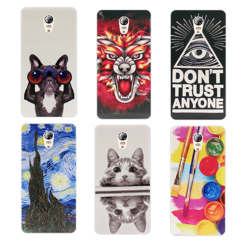 Soft TPU Case For Lenovo Vibe P2 P2C72 Cover Colorful Drawing Soft Silicone Phone Cases For Lenovo Vibe P2 Case Phone Cover