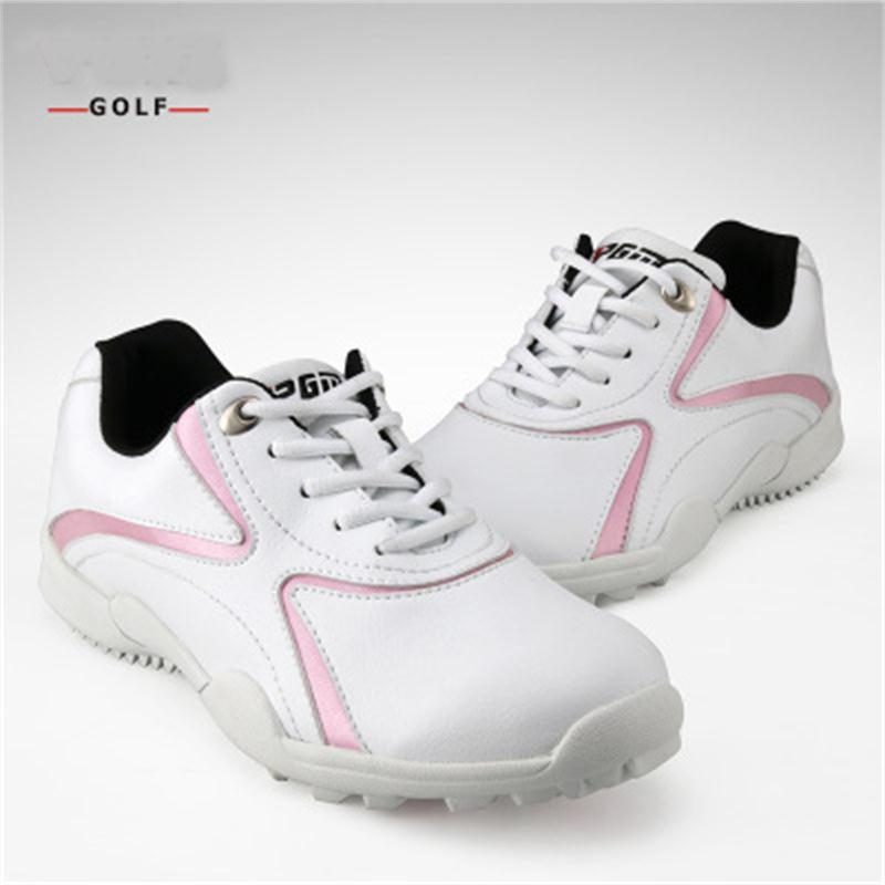 2018 sports shoes women sneakers new High quality breathable waterproof sports shoes golf shoes women