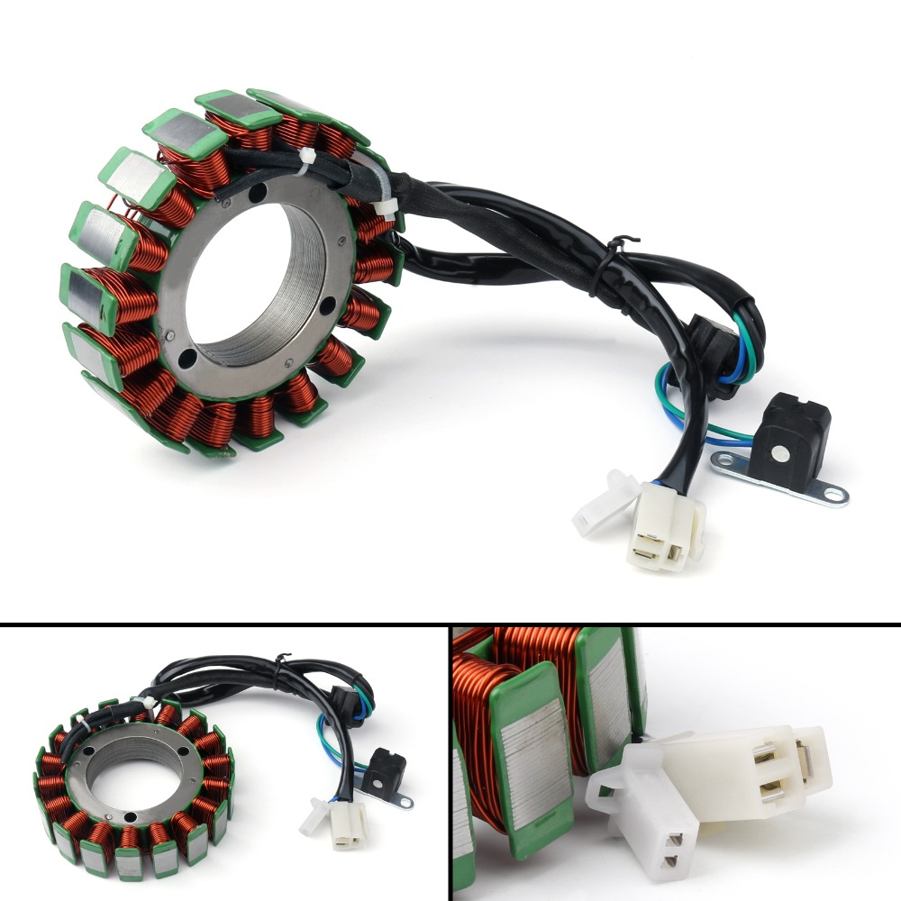 Areyourshop Motorcycle Generator Stator Coil For <font><b>Suzuki</b></font> <font><b>VL</b></font> <font><b>1500</b></font> Boulevard C90T C90 2005-2009 High Quality Motorcycle Coil Parts image