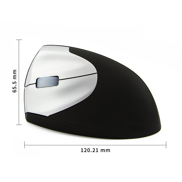Left Hand Wired and Wireless Mouse Ergonomic Vertical Mouse 1600DPI Optical Mice USB Computer Gaming Mause for PC Laptop Gamer 5