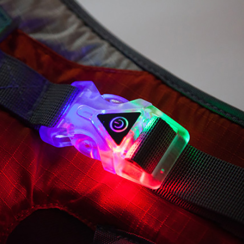 Dog Harness Adjustable LED Dog Collar Vest Medium Large Dogs Reflective no Pull Training Vest for pet Dogs walking harness in Harnesses from Home Garden
