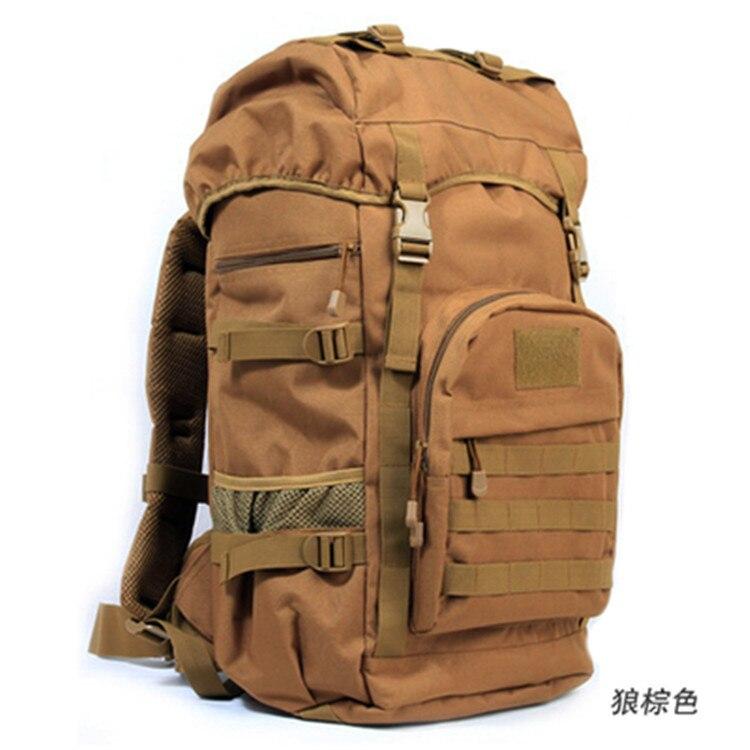 Nouveau sac de Camping étanche pour alpinisme hommes et femmes randonnée 50L sac à dos sacs de sport en plein air