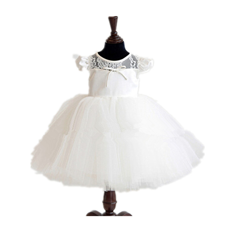 BBWOWLIN Flower Girl Dresses Baby Girl Vestido Infantil Dress for 1 Year Birthday First Communion Dresses Christening  80191 free ship long silver white cosplay straight wig with two clip on ponytails