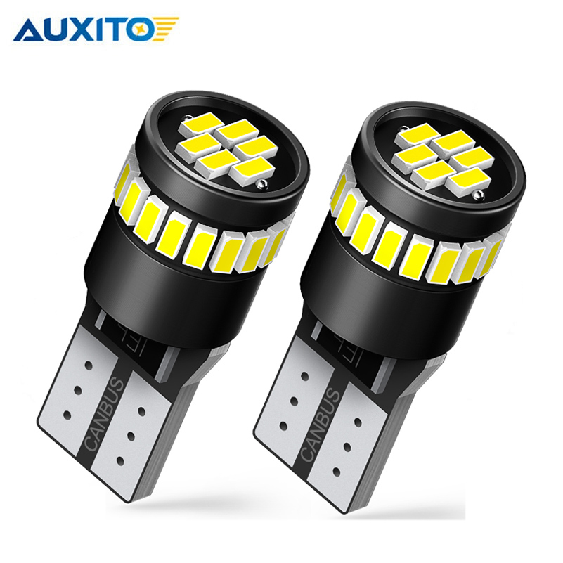 2x T10 LED W5W Canbus 194 168 Error free LED Clearance Parking Light for BMW أودي فولفو تويوتا سوبارو بيجو نيسان نيسان كيا لادا