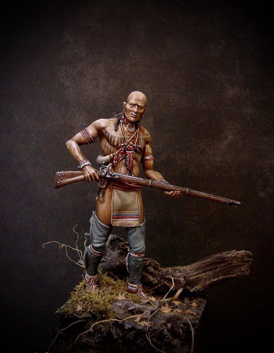 1/24 75MM Ancient Leader Stand Man 75MM   Resin Figure Model Kits Miniature Gk Unassembly Unpainted