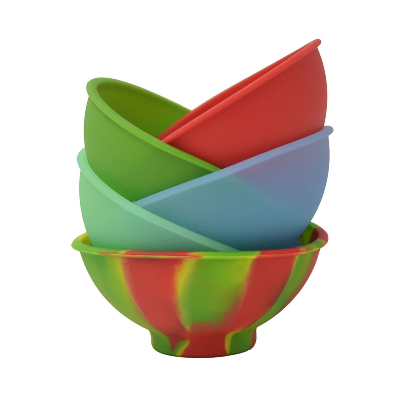ᗐ2pc FDA Bho Silicone Pinch Bowls or Non stick Dab deep container