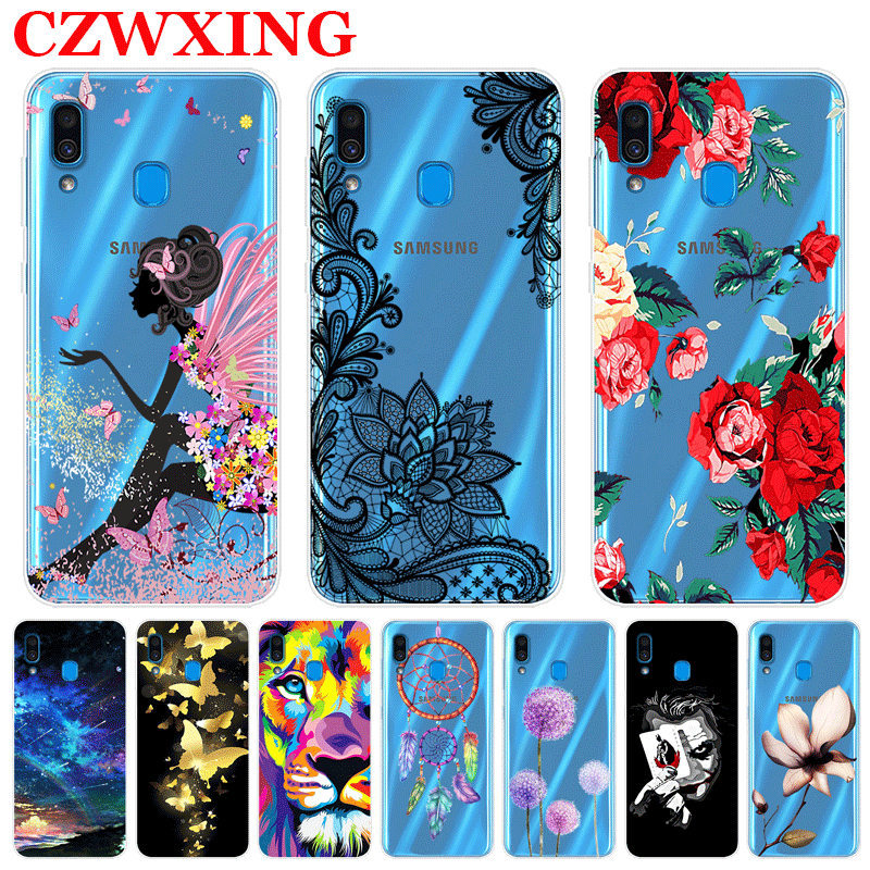 For Samsung Galaxy A20 Case Silicone TPU Soft Phone Case For Samsung A20 A205F A205 A 20 SM-A205F A50 A30 A40 A70