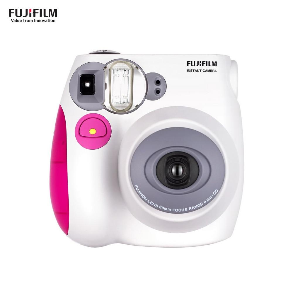 Fujifilm Instax Mini7s Instant Camera Film Camera Auto focusing with Wrist Strap Birthday Christmas New Year