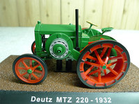 Rare Special Offer ATLAS 1 43 Deutz MTZ 22 Classical Simulation Alloy Tractor Model Agricultural Vehicle