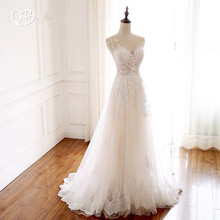 QUEEN BRIDAL Custom Made Wedding Dresses A-line Back