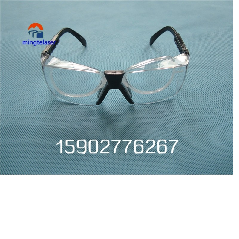 Factory free shipping 1064nm yag laser safety glasses for sale free shipping 1064nm laser protective glasses for workplace of nd yag laser marking and cutting machine supreme quality