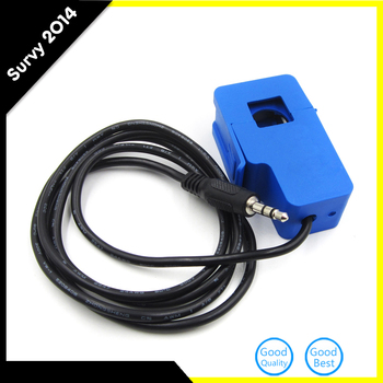 цена на 1pcs Current Transformer 20A 0-1V SCT-013-020 Non-invasive AC Current Sensor Split Core Opening Size