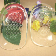 HOBBAGGO 1 пара пяток стельки обувь массажная подушка из силиконового геля Вставки колодки Массажер