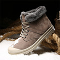 Super Warm Snow Boots Men Winter Shoes Men Leather Boots Ankle Fur Boots For Men Flats Shoes Chaussure Homme Zapatos Hombre