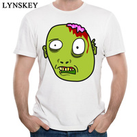 Horror Zombie T Shirts For Men 2018 Custom Personalized Anime Show Drawing T Shirt Summer Popular