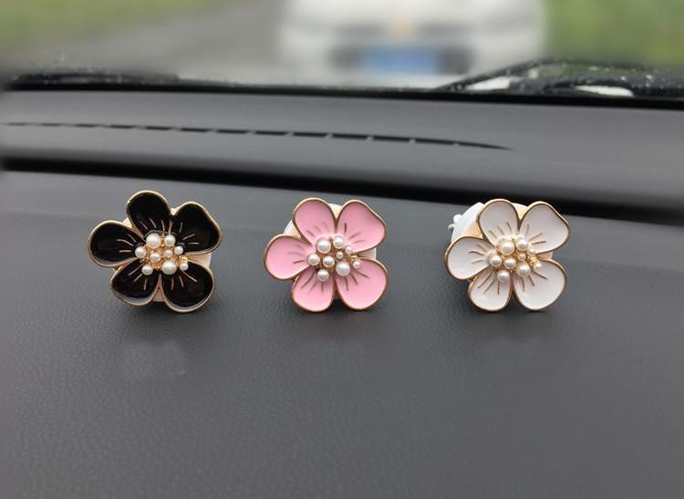 Car Air Freshener Nine Beads Plum Scents Auto Perfume Vent Outlet Clip Car Decoration Parfum Voiture Car Diffuser XCZ644