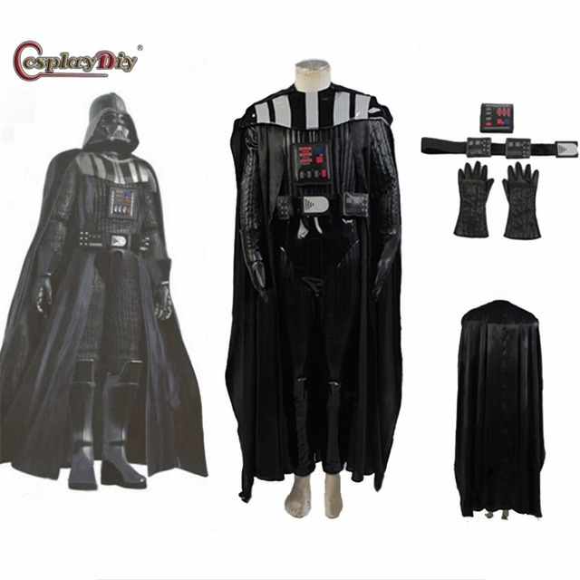 cosplaydiy star wars darth vader costume suit adult men movie costume for halloween party cosplay costume - Halloween Darth Vader