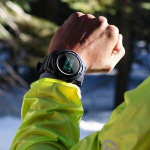 Image 5 - Relojes deportivos para hombre, marca SKMEI, relojes Chronos de goma para hombre, reloj Digital LED resistente al agua, reloj militar para hombre, reloj Masculino
