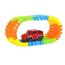 Kids Magic Car Toy Glow in the Dark Race Tracks