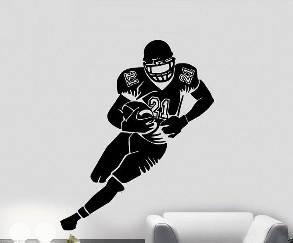 Online Get Cheap Nfl Wall Stickers Aliexpresscom Alibaba Group - Sporting kc wall decals