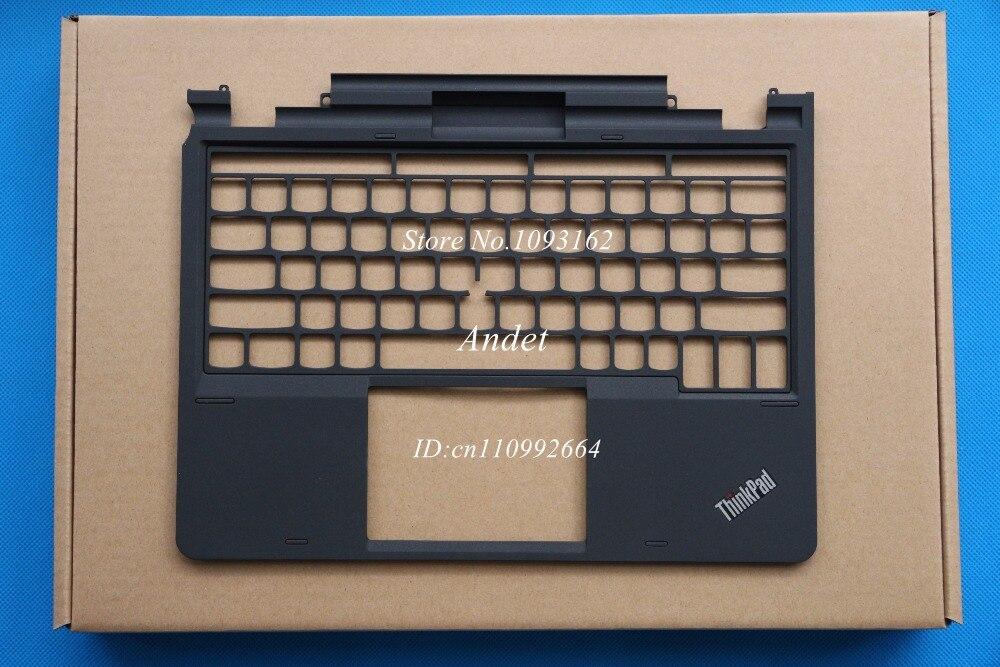 New original for Lenovo ThinkPad X1 Helix Keyboard Bezel Cover Palmrest Upper Case W/ Metal Frame Refurbished