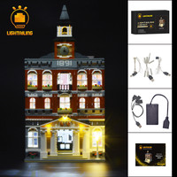 LIGHTAILING Led Light Up Kit For Creator City The Town Hall Building Blcok Model Light Set Compatible With 10224