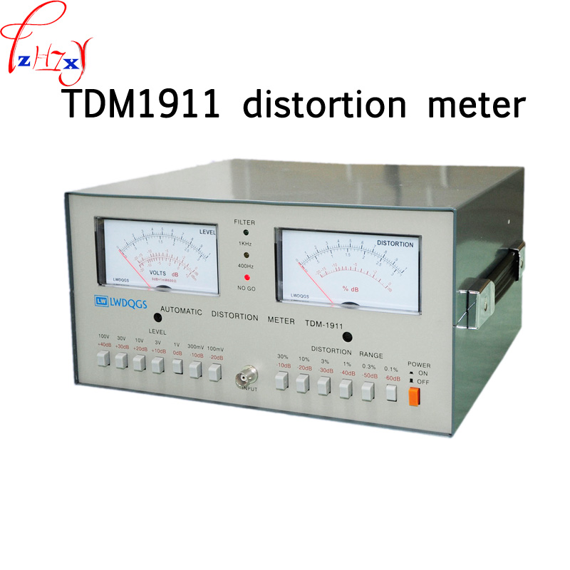 US $159 6 16% OFF|TDM1911 distortion tester TDM 1911 automatic distortion  meter 0 01% 30% audio distortion meter 110/220V 1PC-in Machine Centre from